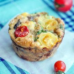 Basil, Sausage and Egg Muffins (Mini Frittatas) Recipe on Yummly. @yummly #recipe