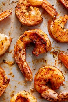 This recipe will teach you how to turn that bag of frozen shrimp into juicy, Cajun-spiced roasted shrimp in a matter of minutes — no thawing required. Frozen Cooked Shrimp, Frozen Shrimp Recipes, Cooked Shrimp Recipes, Seafood Recipes, Cooking Recipes, Healthy Recipes, Seafood Dishes, Frozen Chicken, Healthy Dinners
