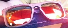 ROODSER lentes de madera c\ micas espejeadas