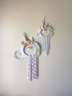 Unicorn Dream Catcher -for the girls room
