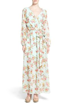 Dirty Ballerina Long Sleeve Maxi Dress (Online Only) available at #Nordstrom