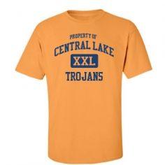 Central Lake Junior High School - Central Lake, MI | Men's T-Shirts Start at $21.97