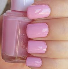 Essie French Affair pink nail polish