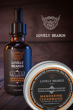 Soft and scented beards are the best kind of beards. Shop Lovely Beards balms and oils in 7 different scents.