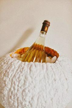 Pumpkin Champagne Bucket