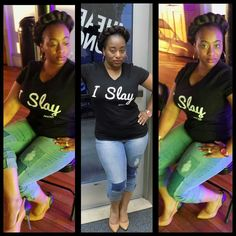 "Another Sexy Situation Clothing ""I Slay"" for orders text 2058865004"