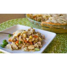 Classic Turkey Pot Pie ❤ liked on Polyvore featuring home, kitchen & dining and bakeware