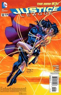 Superman-Wonder Woman romance rocks DC Comics (Jim Lee  /  DC Comics/EW.com)