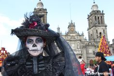 Day of the Dead parade in Mexico City, on LatinFlyer.com | Latin America Travel Intelligence