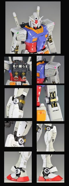 MG 1/100 RX-78-2 Gundam Ver. 3.0 - Painted Build