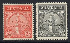 #Australia sg154/5 1935 #gallipoli #landing mtd mint,  View more on the LINK: http://www.zeppy.io/product/gb/2/391343016164/