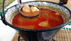Halászlé (fisherman's soup) | 32 Hungarian Foods The Whole World Should Know And Love