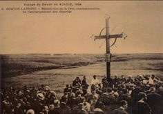 Acadian Memorial Cross