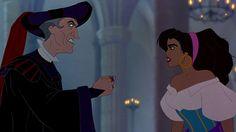 Frollo vs Esmeralda (my money is on Esmeralda) Animation Film, Disney Animation, Disney Pixar, Walt Disney, Disney Characters, Fictional Characters, Esmeralda Disney, Disney Animated Films, Live Action Film