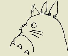 Find images and videos about anime, wallpaper and studio ghibli on We Heart It - the app to get lost in what you love. Totoro Drawing, Manga Anime, Anime Art, Studio Ghibli Art, My Neighbor Totoro, Animation, Hayao Miyazaki, Cartoon Wallpaper, Easy Drawings