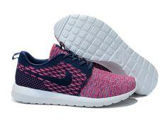 Lightning Shoes-Nike Men's Flyknit Roshe Run