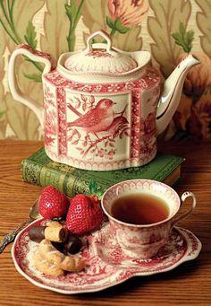 Pretty Bird Afternoon Tea Set