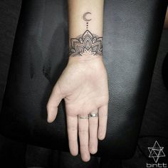 Wrist Aztec Moon Tattoos