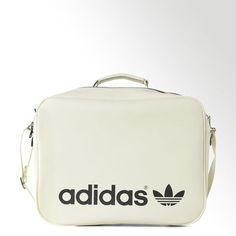 90defb2af600 adidas Polyurethane Airliner Bag - White