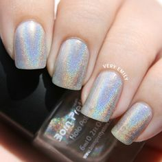 Aliexpress.com : Buy 6ml Born Pretty Holographic Holo Polish Glitter Nail Art Polish Varnish Hologram Effect 1# from Reliable art mouse suppliers on BeautyLadyNailart