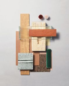 Take a look to the moodboards and feel the inspiration come in to your heart. Brick Material, Material Board, Material Design, Material Girls, Hay Design, Deco Design, Mood Board Interior, Interior Design Presentation, Decoration Bedroom