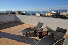 Portixol/ Es Molinar, Palma de Mallorca: Apartment with roof terrace in Molinar. 1 bedroom, 2 bathroom, 200 000 €. Nice 50 sqm apartment with rooftop terrace.