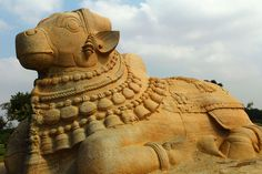 Lepakshi Nandi Statue by Banu Balaji on 500px