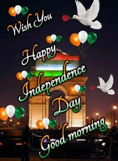 Good Morning Gif, Good Morning Images, Good Morning Quotes, Blue Background Images, Blue Backgrounds, Good Morning Hindi Messages, Happy Independence Day Images, Wish Board, Indian Flag
