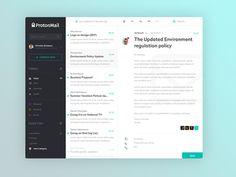 ProtonMail App Concept