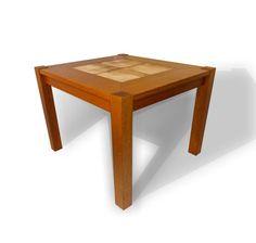 Mobelfabrik Teak and Ceramic Tile Side Table (SOLD)