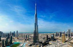 Burj Khalifa . Dubai