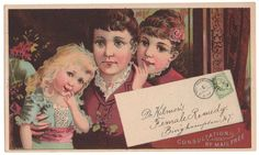 Trade Card Collection 041 - Dr. Kilmer's Female Remedy - Front.