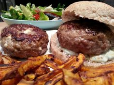 Slimming World Delights: Greek Lamb Burgers