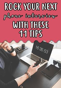 How to Rock a Phone Interview - Telephone Interview Questions, Interview Answers, Job Interview Tips, Interview Preparation, Job Search Tips, Career Search, Job Resume, Resume Ideas, Resume Tips