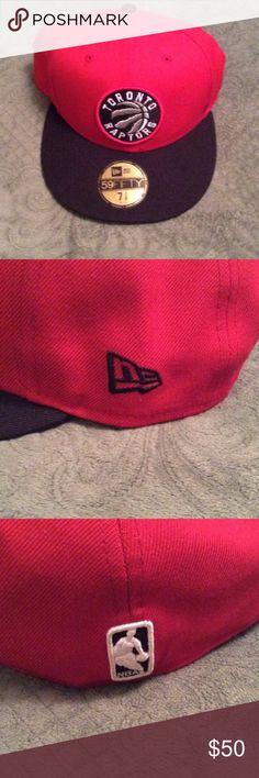 Take 50% off till MON 59 FIFTY Toronto Raptors 59 FIFTY Toronto Raptors Fitted Cap New Era 59 FIFTY Toronto Raptors Fitted Cap never worn New Era hat size 7 3/8 New Era Accessories Hats