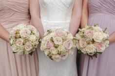 From Alice + Dan's wedding at Nanteos Mansion in South Wales:  http://www.christopherian.co.uk/2013/12/17/nanteos-wedding-photographer/  Pastel Wedding flowers