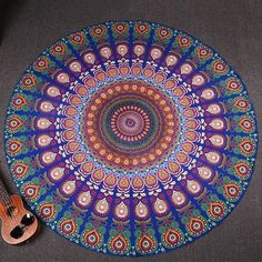 Multipurpose Mandala Thin Peacock Throw/Blanket - Free Worldwide Shipping  . Take a look at Check out amazing mandala products at www.estus.co