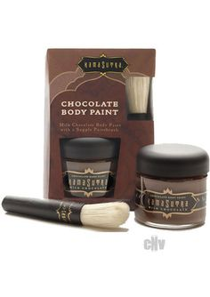 Single Chocolate Body Paint
