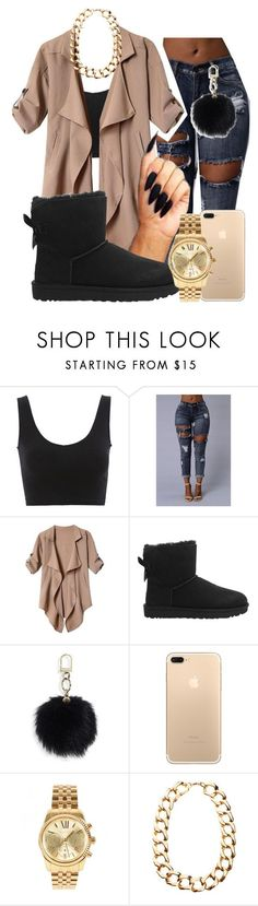 """"" by miss-hollyhood ❤ liked on Polyvore featuring UGG, Tory Burch, Michael Kors and Gogo Philip"