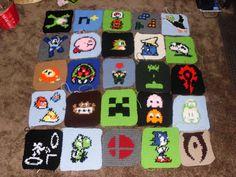 #gamer #quilt #croch