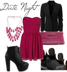 """Date Night"" by mm02884 on Polyvore"