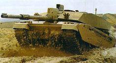 Challenger 2 Main Battle Tank, United Kingdom  Challenger 2 on exercise.