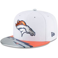 8790a4846c6 Men s Denver Broncos New Era White 2017 NFL Draft Official On Stage 59FIFTY  Fitted Hat Nfl