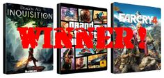CONGRATZ! My Friday Games #Giveaway Winner Announcement is at http://on.fb.me/1rHqp16  #RT