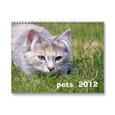 cute 2012 calender sold on zazzle
