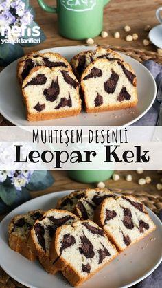 Leopard Cake, Pasta Cake, Banana Pudding Recipes, Desert Recipes, Cupcake Cookies, Chocolate Cake, Deserts, Muffin, Memorial Day