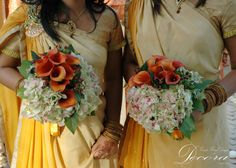 Floral Design, Decor & Centerpieces: Bridesmaid Bouquets by MME Event Design & Productions. mmeentertainment.com. Plan your wedding with us now: 877.885.0705 | 212.971.5353