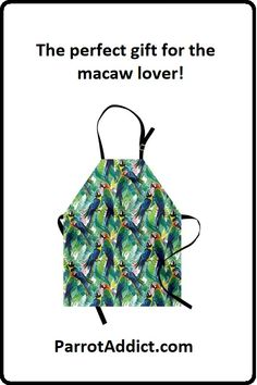 Cotton Maxi Shopping Bag I Love Macaws