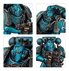 Alpha Legion Headhunter Kill Team Upgrade Set