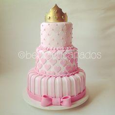 Bolo Princesa (Princess Cake) #cake #princesscake  #doce #boloprincesa